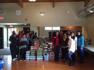 We made over 100 shoeboxes of toys for Samaritan¹s Purse.